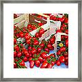 Pomodori Italiani Framed Print