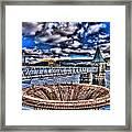 Pontsticill Reservoir Merthyr Tydfil Framed Print by Steve Purnell