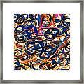 Pop Art b14 Framed Print
