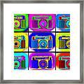 Pop Art Robin Proofs Framed Print