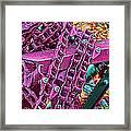 Pop Of Purple Framed Print