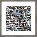 Port Jefferson Photo Collage Framed Print