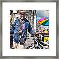Portrait Of Doctor Luv In New Orleans Framed Print