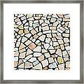 Portuguese Pavement Framed Print