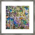 Posies In The Grass Framed Print