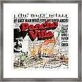 Poster Telly Savalos Pancho Villa In Pancho Villa 1972-2013 Framed Print