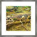 Postosuchus Fossil Framed Print