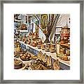Pottery In La Borne Framed Print by Oleg Koryagin
