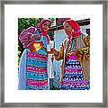 Pouring Wine For Guests In Demircidere Koyu In Kozak-turkey Framed Print