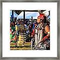 Pow Wow 13 Framed Print