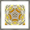 Power Of Gold Framed Print