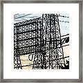 Power Tower Lines Framed Print