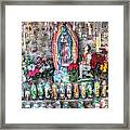 Prayers To Our Lady Of Guadalupe Framed Print