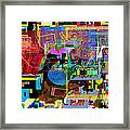precious is man for he is created in the Divine Image 11 Framed Print