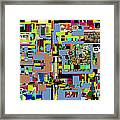 precious is man for he is created in the Divine Image 3 Framed Print by David Baruch Wolk