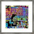 precious is man for he is created in the Divine Image 7 Framed Print