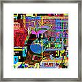 precious is man for he is created in the Divine Image 9 Framed Print