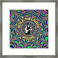 Psychedelic Bill Nelson Deluxe Framed Print