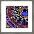Psychedelic Church Window Framed Print
