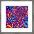 Psychedelic Mind Trip Framed Print