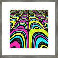 Psychel - 003 Framed Print by Variance Collections