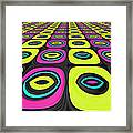 Psychel - 005 Framed Print by Variance Collections