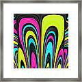 Psychel - 007 Framed Print by Variance Collections