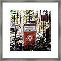 Pump Framed Print