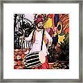 Punjabi Dhol Framed Print