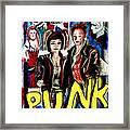 Punk Style Framed Print