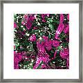 Purple Christmas Framed Print