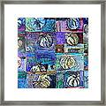 Purple Onions Framed Print