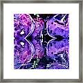 Purple Rutabagas Reflect  Framed Print