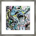 Queen Of The Underground Framed Print
