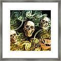 Raging Wars Of Pirates Past Framed Print
