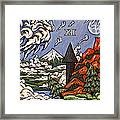 Stormy Noon Framed Print