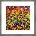 Rainbow Distortion 2 Framed Print