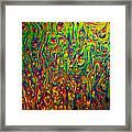 Rainbow Distortion 3 Framed Print