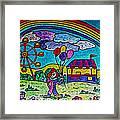 Rainbow Fair Framed Print