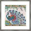 Rainbow Feathers Framed Print