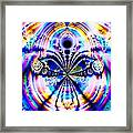 Rainbows And Dragonflies Framed Print