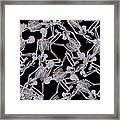 Raining Skeletons Framed Print