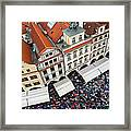 Rainy Day In Prague-2 Framed Print