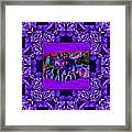 Rattlesnake Abstract Window 20130204m133 Framed Print