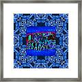 Rattlesnake Abstract Window 20130204m180 Framed Print