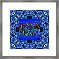 Rattlesnake Abstract Window 20130204m180 Framed Print