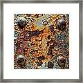 Raw-extract Framed Print