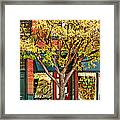 Re-cycle Bike Shop Framed Print