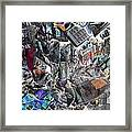 Recycling  5 Framed Print