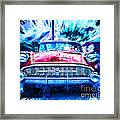 Red Buick  Framed Print